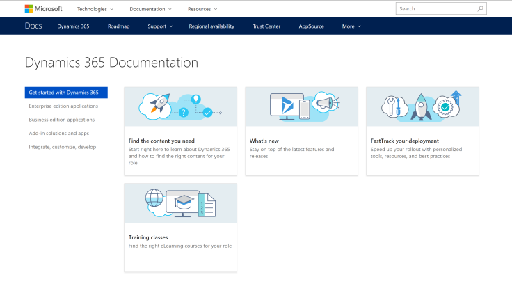 Dynamics365Documentation